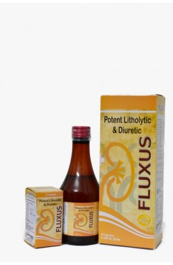Flusux Capsule & Syrup - Renal stone cure kit